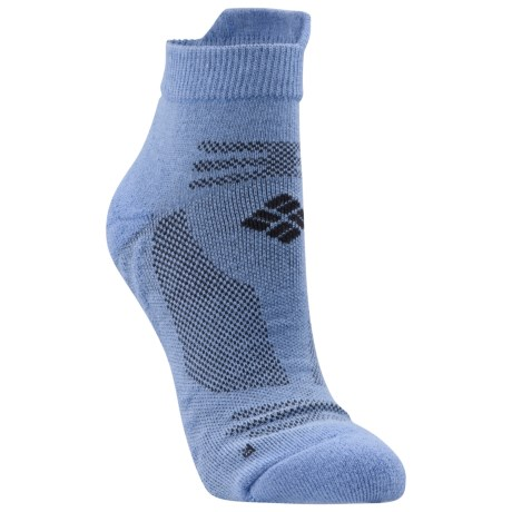 Columbia Sportswear Ravenous Tab Running Socks (For Women) in Alaskan Blue/Grill