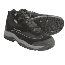 Columbia Sportswear Razoric Peak Hiking Boots - Waterproof (For Men) in Black/Castlerock - Closeouts