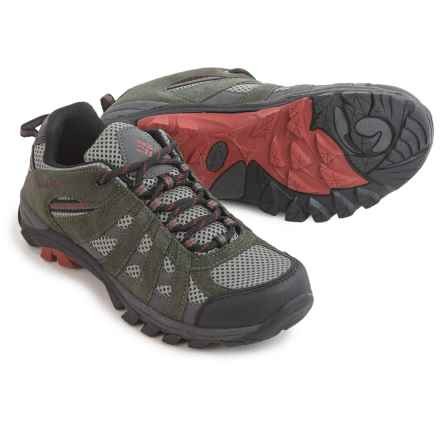Columbia Sportswear Redmond Explore Trail Shoes (For Little and Big Kids) in Grill - Closeouts