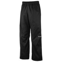 Columbia Sportswear Regen Omni-Tech® Rain Pants - Waterproof (For Men) in Black - Closeouts