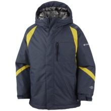 Columbia Sportswear Renegade Warmth Omni-Heat® Jacket - Insulated (For Boys) in Mystery - Closeouts