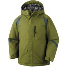 Columbia Sportswear Renegade Warmth Omni-Tech® Omni-Heat® Jacket - Waterproof (For Toddler Boys) in Elm - Closeouts