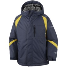 Columbia Sportswear Renegade Warmth Omni-Tech® Omni-Heat® Jacket - Waterproof (For Toddler Boys) in Mystery - Closeouts
