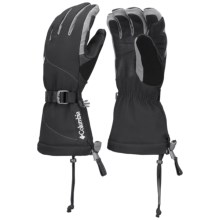 Columbia Sportswear Retta Ridge Omni-Heat® Gloves - Waterproof, Insulated (For Women) in Black - Closeouts