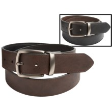 Columbia Sportswear Reversible Leather Belt (For Men) in Black/Brown - Closeouts