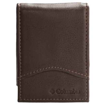 Columbia Sportswear RFID Wallet with Flick Bar - Leather (For Men) in Brown - Closeouts
