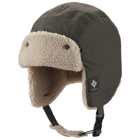 Columbia Sportswear Ridge 2 Run II Omni-Heat® Hat - Ear Flaps, Fleece Lining (For Men and Women) in Gravel