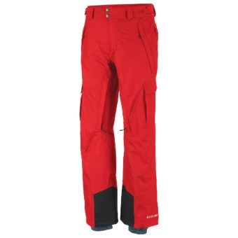 Columbia Sportswear Ridge 2 Run II Omni-Heat® Omni-Tech® Pants - Waterproof (For Men) in Bright Red