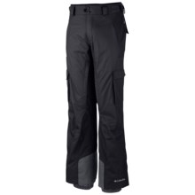 Columbia Sportswear Ridge 2 Run II Omni-Heat® Omni-Tech® Ski Pants - Waterproof (For Big and Tall Men) in Black - Closeouts