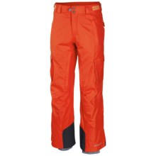 Columbia Sportswear Ridge 2 Run II Omni-Heat® Omni-Tech® Ski Pants - Waterproof (For Big and Tall Men) in State Orange - Closeouts
