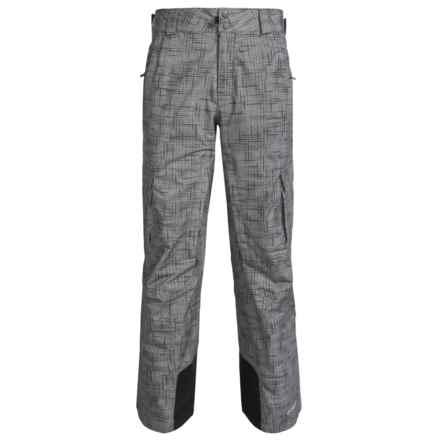 Columbia Sportswear Ridge 2 Run II Omni-Heat® Omni-Tech® Ski Pants - Waterproof (For Men) in Grill Tweed Print - Closeouts
