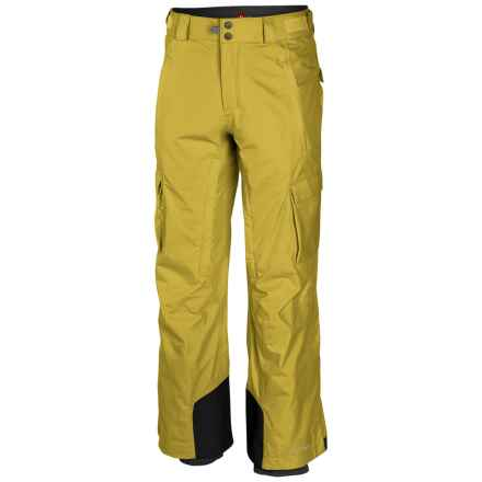 Columbia Sportswear Ridge 2 Run II Omni-Heat® Omni-Tech® Ski Pants - Waterproof (For Men) in Mineral Yellow - Closeouts