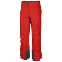 Columbia Sportswear Ridge 2 Run II Omni-Heat® Omni-Tech® Ski Pants - Waterproof (For Men) in Spicy - Closeouts