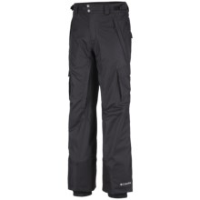 Columbia Sportswear Ridge 2 Run II Omni-Heat® Shell Pants - Waterproof (For Tall Men) in Black - Closeouts