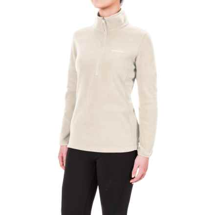 Columbia Sportswear Ridge Repeat Polartec® Fleece Shirt - Zip Neck, Long Sleeve (For Women) in Chalk - Closeouts