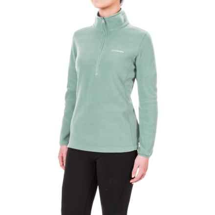 Columbia Sportswear Ridge Repeat Polartec® Fleece Shirt - Zip Neck, Long Sleeve (For Women) in Dusty Green - Closeouts