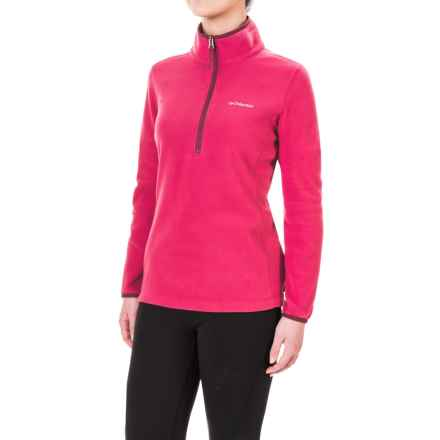 Columbia Sportswear Ridge Repeat Polartec® Fleece Shirt - Zip Neck, Long Sleeve (For Women) in Red Orchid - Closeouts