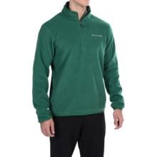 Columbia Sportswear Ridge Repeat Polartec® Sweater - Zip Neck (For Men) in Pine Green - Closeouts