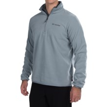 Columbia Sportswear Ridge Repeat Polartec® Sweater - Zip Neck (For Men) in Tradewinds Grey - Closeouts