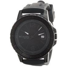 Columbia Sportswear Ridgeback Watch - Silicone Band in Black/Black - Closeouts