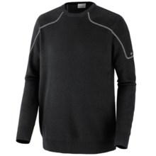 Columbia Sportswear Risco Run Crew Sweater (For Men) in Black - Closeouts