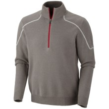 Columbia Sportswear Risco Run Sweater - Zip Neck (For Men) in Boulder - Closeouts