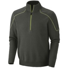 Columbia Sportswear Risco Run Sweater - Zip Neck (For Men) in Dark Moss - Closeouts