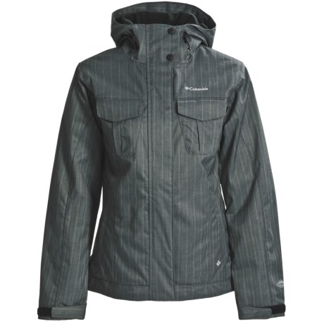 Columbia Sportswear Riva Ridge Jacket - Insulated (For Women) in Petrol
