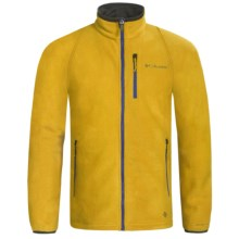 Columbia Sportswear Road 2 Peak Jacket - Fleece (For Men) in Gold Leaf - Closeouts