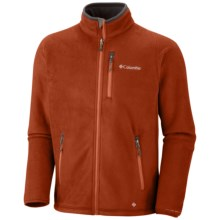 Columbia Sportswear Road 2 Peak Jacket - Fleece (For Men) in Sanguine - Closeouts