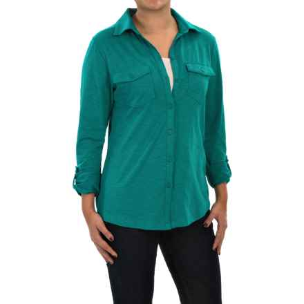 Columbia Sportswear Rocky Ridge Shirt - Long Sleeve (For Women) in Emerald - Closeouts