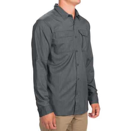 Columbia Sportswear Royce Peak II Omni-Wick® Shirt - UPF 50, Long Sleeve (For Men) in Graphite - Closeouts