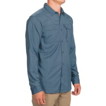 Columbia Sportswear Royce Peak II Omni-Wick® Shirt - UPF 50, Long Sleeve (For Men) in Steel - Closeouts