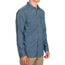 Columbia Sportswear Royce Peak II Omni-Wick® Shirt - UPF 50, Long Sleeve (For Men) in Steel - Closeouts