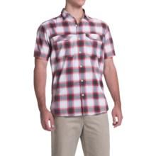 Columbia Sportswear Royce Peak II Omni-Wick® Shirt - UPF 50+, Short Sleeve (For Men) in Shark Plaid - Closeouts
