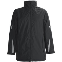 Columbia Sportswear Ruby Ridge Jacket - Insulated (For Plus Size Women) in Black/Sea Salt - Closeouts