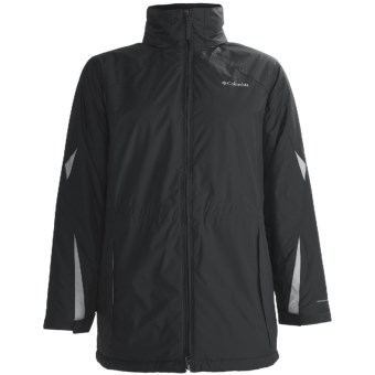 Columbia Sportswear Ruby Ridge Jacket - Insulated (For Plus Size Women) in Black/Sea Salt