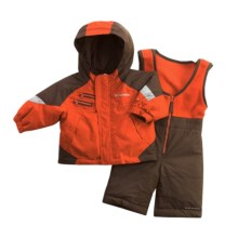 Columbia Sportswear Rugged Set - Reversible Jacket (For Infant Boys) in Flame - Closeouts