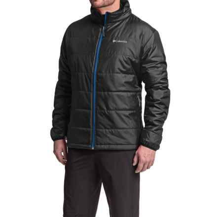 Columbia Sportswear Saddle Chutes Omni-Heat® Jacket - Insulated (For Tall Men) in Black/Super Blue - Closeouts