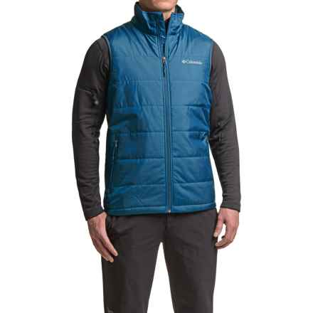 Columbia Sportswear Saddle Chutes Omni-Heat® Vest - Insulated (For Men) in Marine Blue - Closeouts