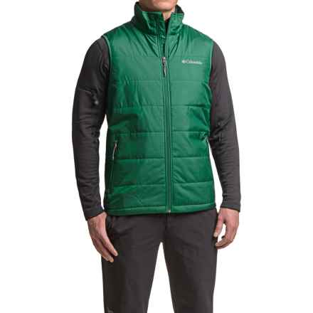 Columbia Sportswear Saddle Chutes Omni-Heat® Vest - Insulated (For Men) in Wildwood Green - Closeouts