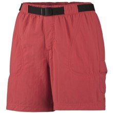 Columbia Sportswear Sandy River Cargo Shorts - UPF 30 (For Women) in Burnt Henna - Closeouts