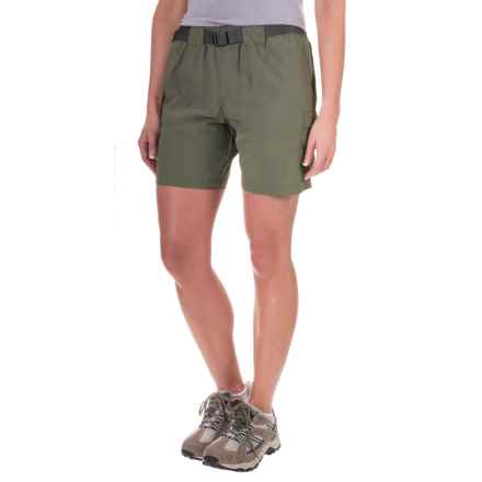 Columbia Sportswear Sandy River Cargo Shorts - UPF 30 (For Women) in Cypress/Grill - Closeouts