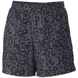 Columbia Sportswear Sandy River II Print Shorts - UPF 30 (For Women) in Metal Windy Waters Print