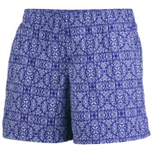 Columbia Sportswear Sandy River II Print Shorts - UPF 30 (For Women) in Clematis Blue/Mirage - Closeouts