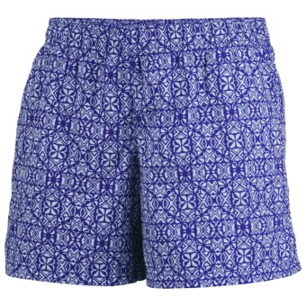 Columbia Sportswear Sandy River II Print Shorts - UPF 30 (For Women) in Clematis Blue/Mirage
