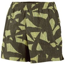 Columbia Sportswear Sandy River Shorts - UPF 30 (For Women) in Leaf Green - Closeouts