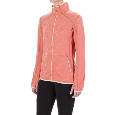 Columbia Sportswear Sapphire Trail Fleece Jacket (For Women) in Lychee