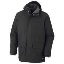 Columbia Sportswear Saskatoon Interchange Omni-Heat® Jacket - 3-in-1, Insulated (For Men) in Black - Closeouts