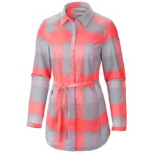 Columbia Sportswear Saturday Trail Flannel Shirt - Long Sleeve (For Women) in Mirage - Closeouts